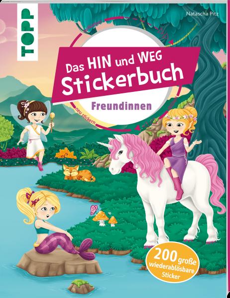 Das Hin-und-weg-Stickerbuch Freundinnen