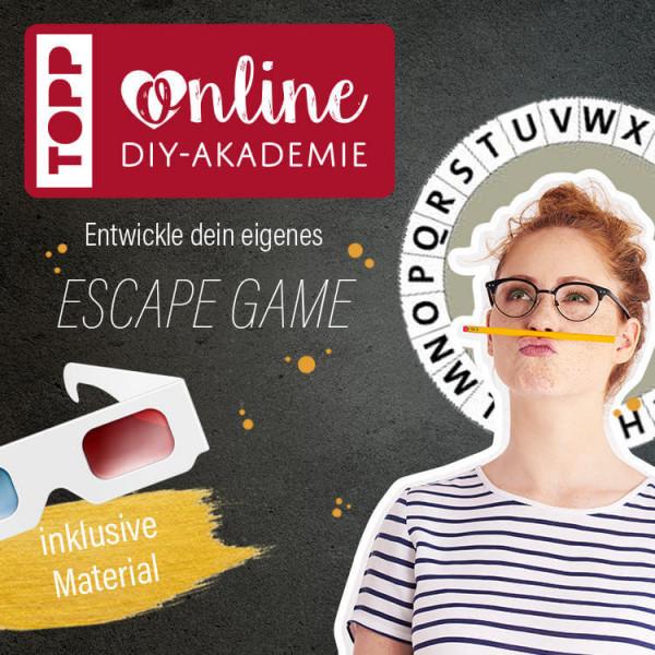 Escape Game entwickeln im Live-Workshop der TOPP DIY Akademie