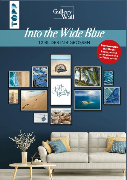 "Gallery Wall ""Into The Wide Blue"" - 12 Bilder in 4 Größen"