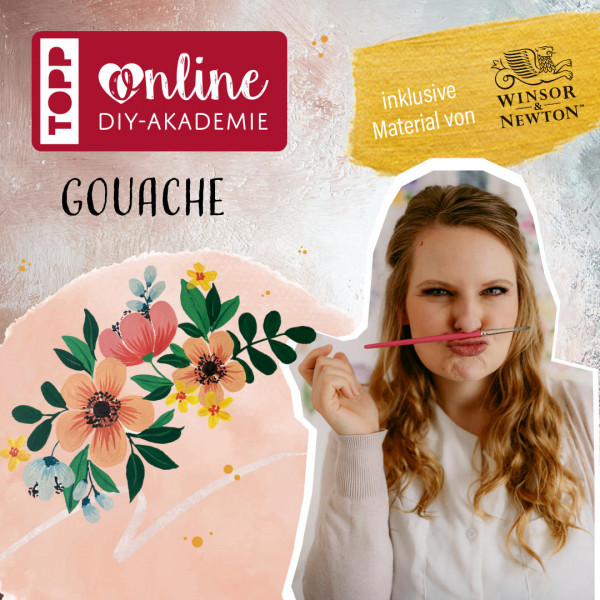 Gouache malen Online-Workshop