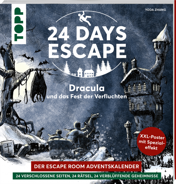 24 DAYS ESCAPE – Der Escape Room Adventskalender: Dracula und das Fest der Verfluchten