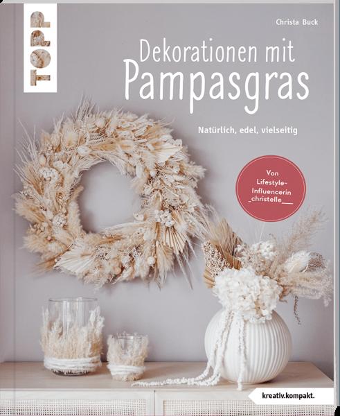 Dekorationen mit Pampasgras