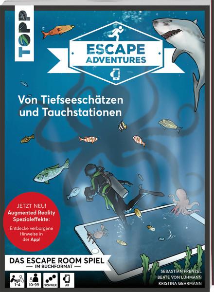 Escape Adventures AR – Augmented Reality. Von Tiefseeschätzen und Tauchstationen