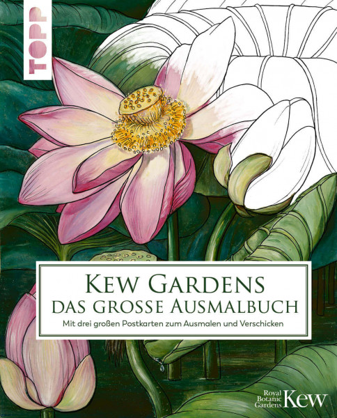 Kew Garten - das große Ausmalbuch für Erwachsene von TOPP