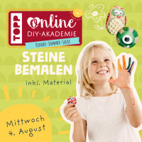 """Bastelstunde für Kids """"Steine bemalen"""""""