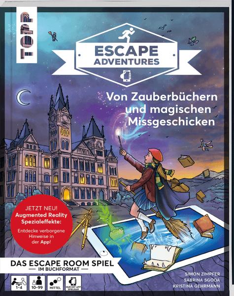 Escape Adventures AR – Von Zauberbüchern und magischen Missgeschicken