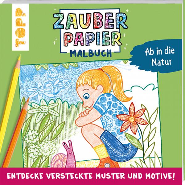 Zauberpapier Malbuch Ab in die Natur