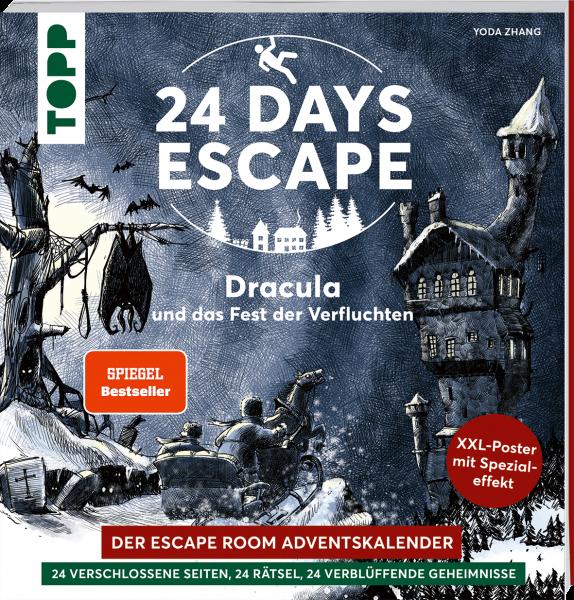 24 DAYS ESCAPE – Der Escape Room Adventskalender: Dracula und das Fest der Verfluchten