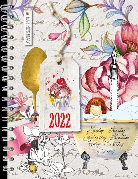 Daphne's Diary – Taschenkalender 2022