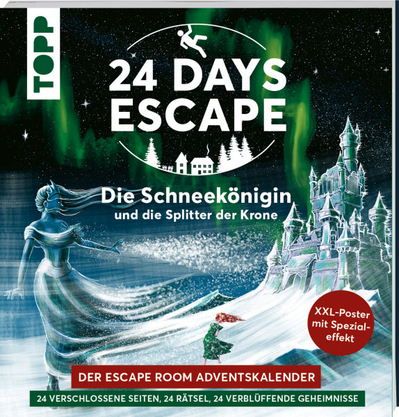 24 DAYS ESCAPE – Der Escape Room Adventskalender: Die Schneekönigin und die Splitter der Krone