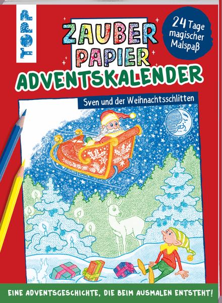 Coverbild Zauberpapier Adventskalenderbuch