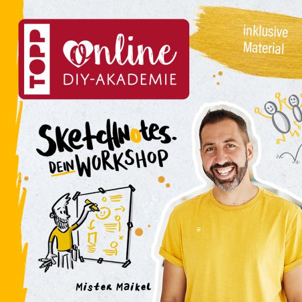 Sketchnote für Einsteiger Online-Workshop