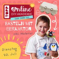"""Bastelstunde für Kids """"Basteln mit Eierkarton"""""""