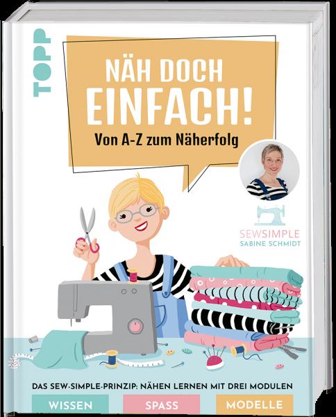 Nähbuch mit Schnittmustern für Anfänger inkl. Anleitungsvideos