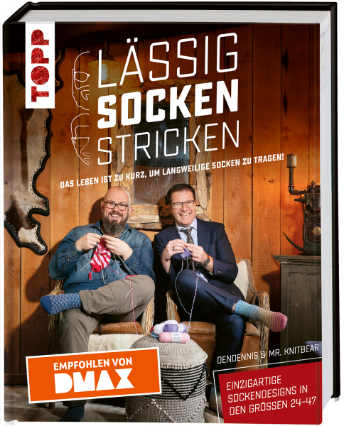 Lässig Socken stricken - Empfohlen von DMAX