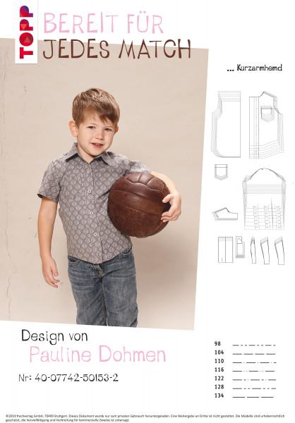 Kurzarmhemd & klassisches Langarmhemd (nur Schnittmuster, ohne Anleitung, für Fortgeschrittene)