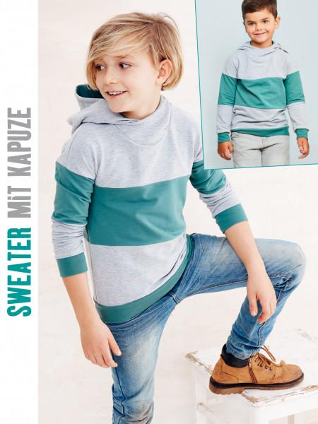 Sweater mit Kapuze (nur Pattarina Schnitt)