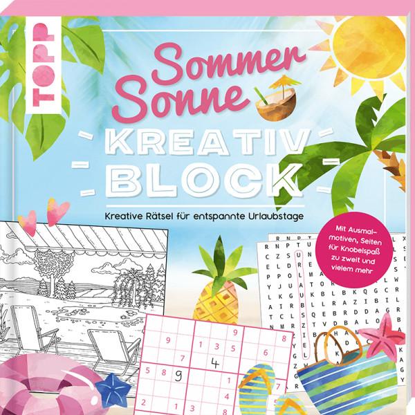 Sommer-Sonne-Kreativblock