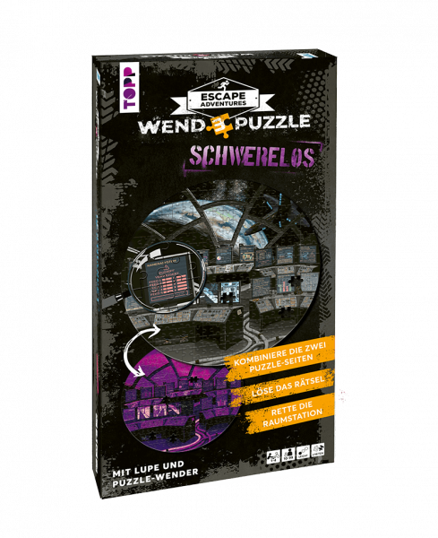 Escape Adventures Wendepuzzle - Schwerelos
