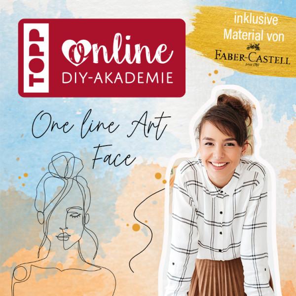 Der Online Workshop One Line Gesicht zeichnen