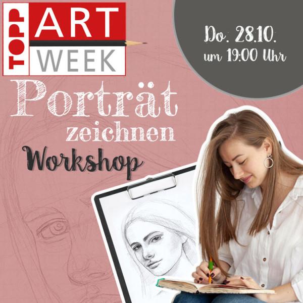 Artweek Online Workshop The Face