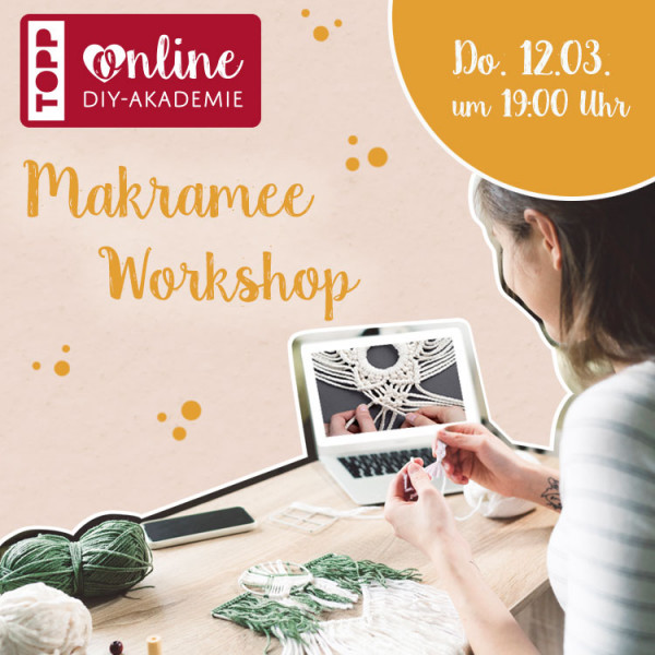 Makramee Online-Workshop & Materialien