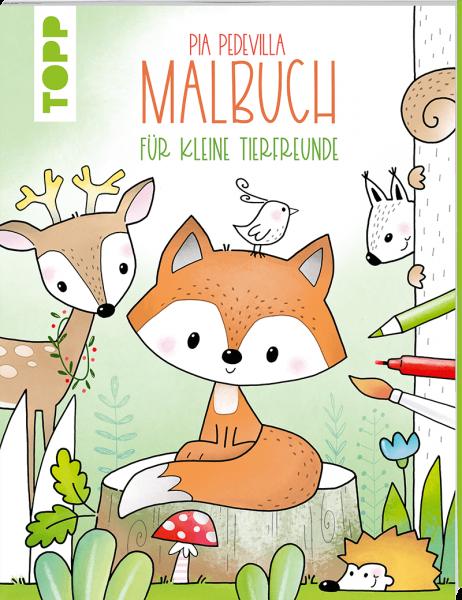 Pia Pedevilla Malbuch - Für kleine Tierfreunde