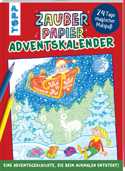 Zauberpapier Adventskalender