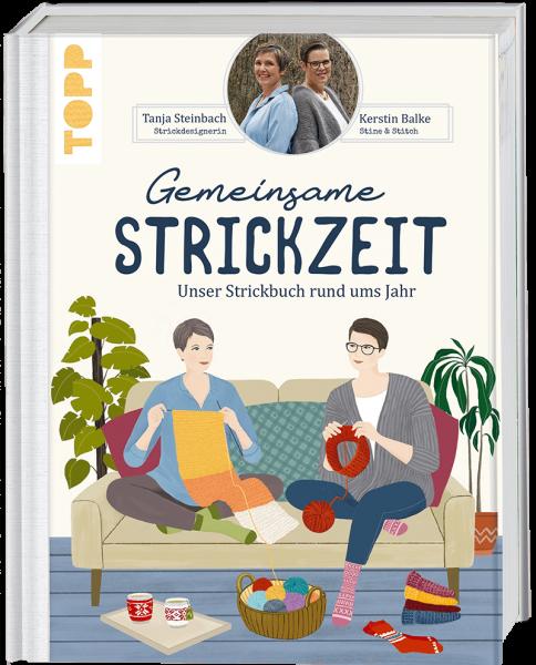 Gemeinsame Strickzeit von Tanja Steinbach und Kerstin Balke von TOPP