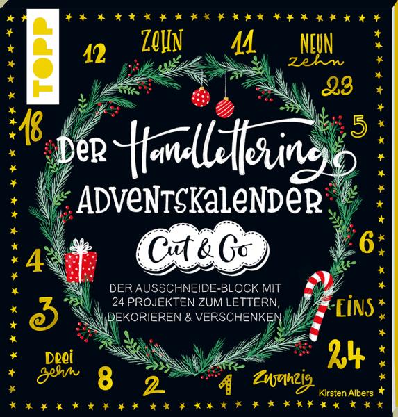 Der Handlettering Adventskalender