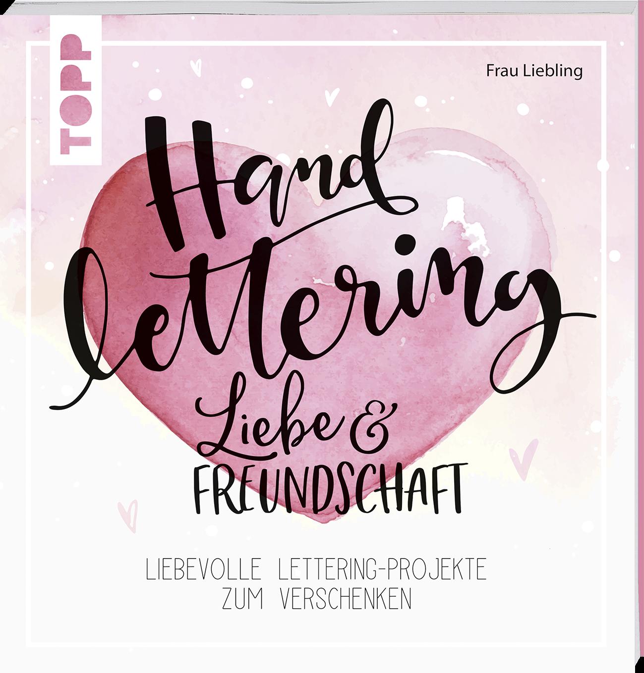 Handlettering Liebe Freundschaft Von Frau Frau Liebling