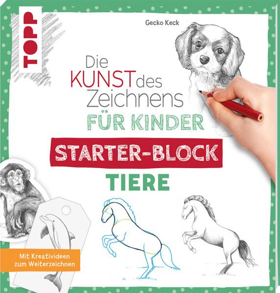 Die Kunst des Zeichnens für Kinder Starter-Block - Tiere