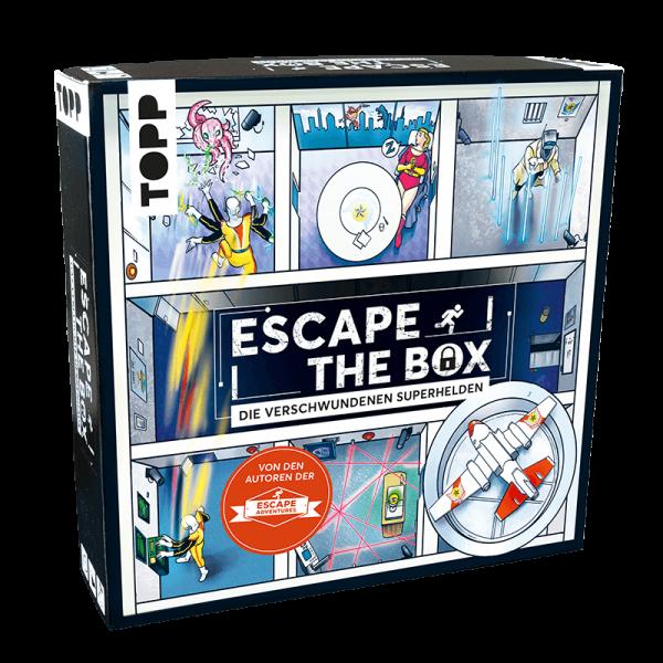 Escape The Box – Die verschwundenen Superhelden
