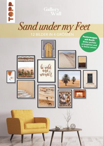 """Gallery Wall """"Sand Under My Feet""""-12 Bilder in 4 Größen"""