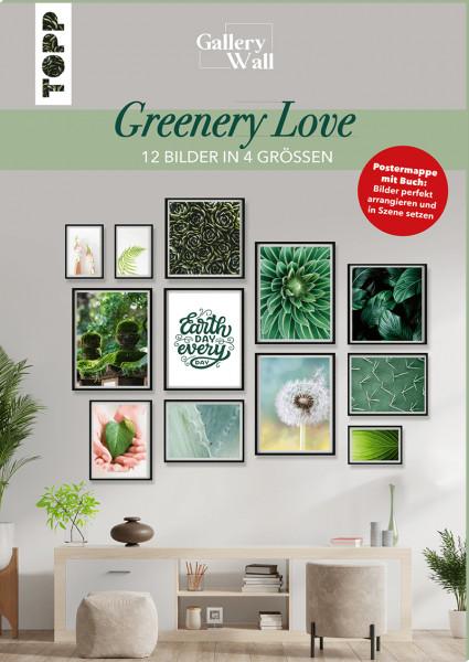 """Gallery Wall """"Greenery Love"""" - 12 Bilder in 4 Größen"""