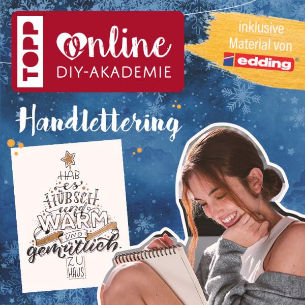 Handlettering Online Workshop für Einsteiger mit Ludmila Blum