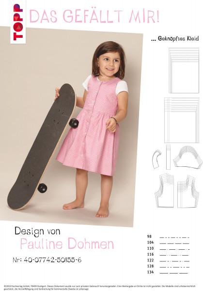 Schnittmuster Kleid für Mädchen