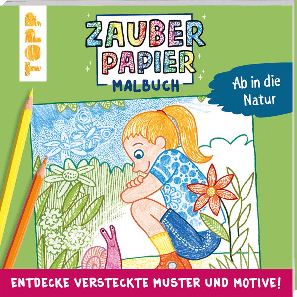 Zauberpapier Buch Cover
