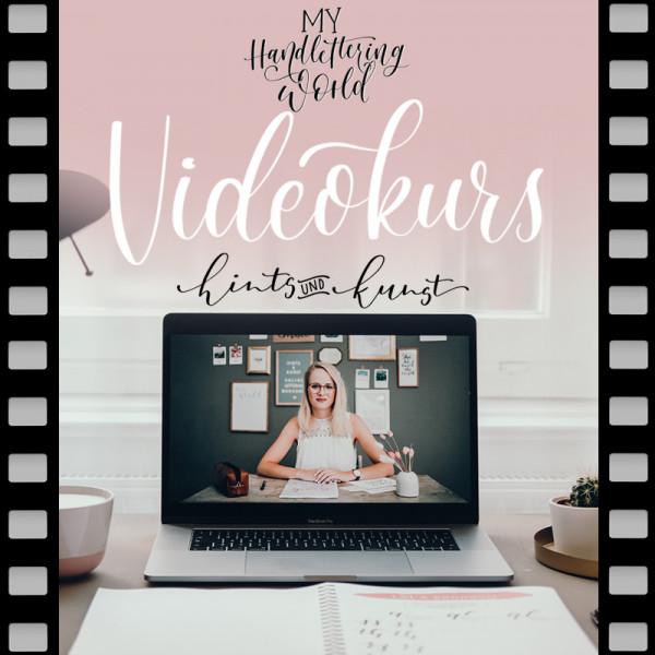 Dein Handlettering Videokurs mit Katharina Till