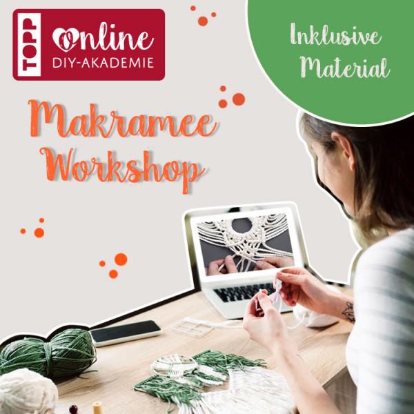Makramee Online Workshop mit Josephine Kirsch für Anfänger