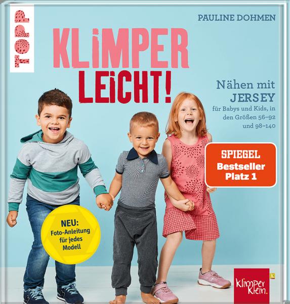 Nähen mit Jersey Klimperleicht - neues Buch von Pauline Dohmen SPIEGEL Bestseller