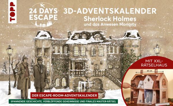 Sherlock Holmes Adventskalender Moriartys Haus
