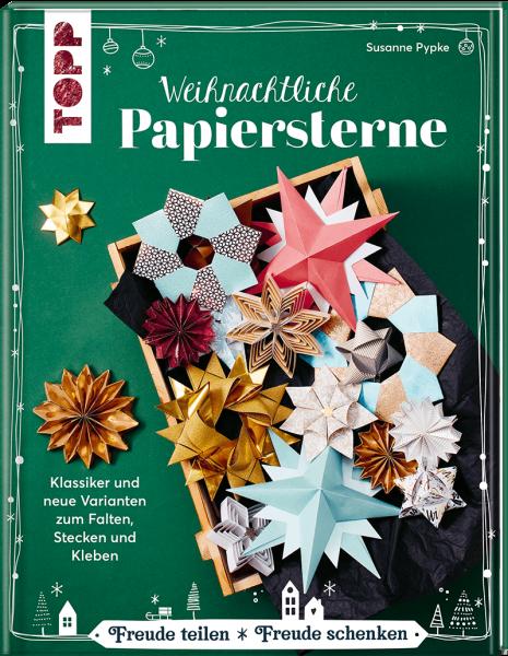 Weihnachtliche Papiersterne - Bastelbuch mit Anleitungen von TOPP