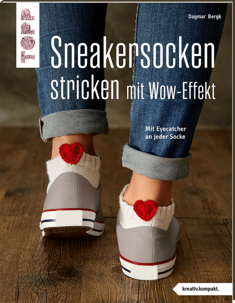 Sneakersocken stricken mit Wow-Effekt