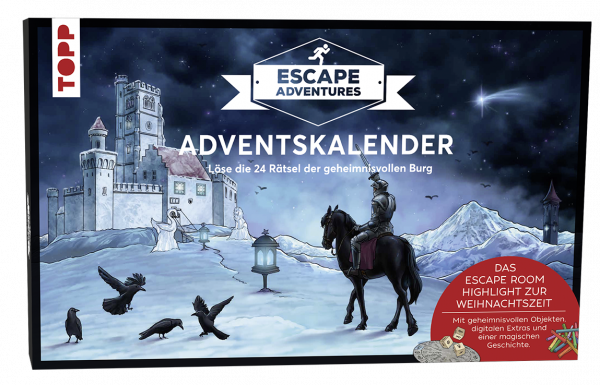 Adventskalender Escape Adventures - Die geheimnisvolle Burg