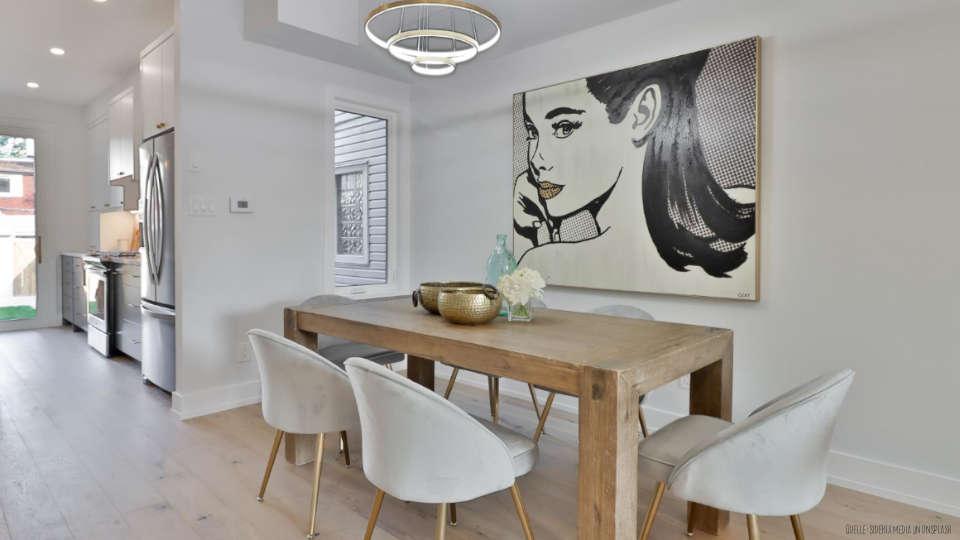 Einrichtung-DIY-Ideen-Wohnen-Esszimmer-mit-Holztisch