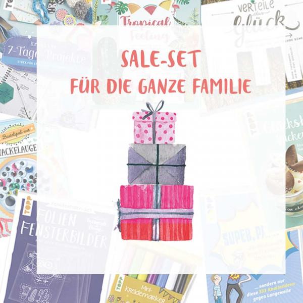 """SALE-Set """"Kreative Ideen für die ganze Familie"""""""