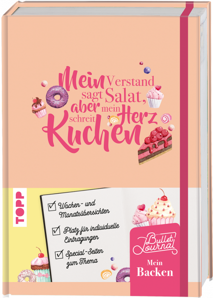 Mein Bullet Journal Backen