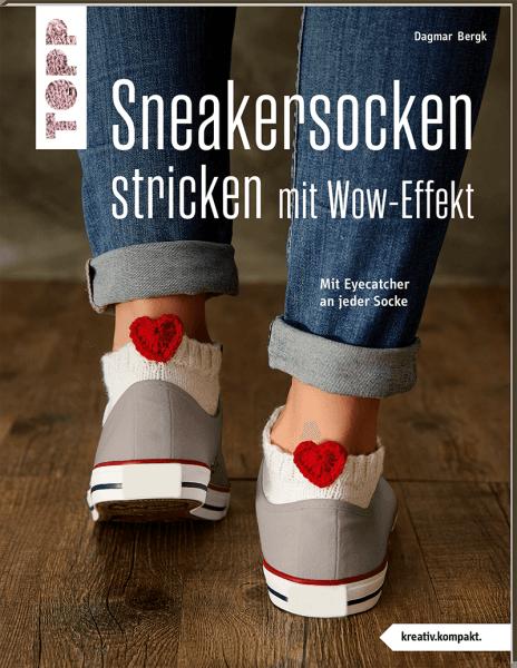 Sneakersocken stricken mit Wow-Effekt