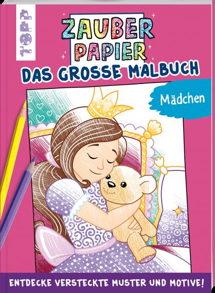Zauberpapier - Das große Malbuch - Mädchen